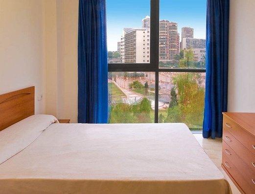 Chambre avec lit double Appartements Magic Atrium Plaza