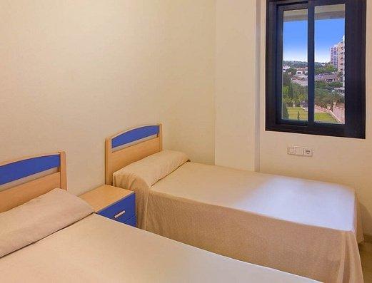 Chambre avec 2 lits Appartements Magic Atrium Plaza